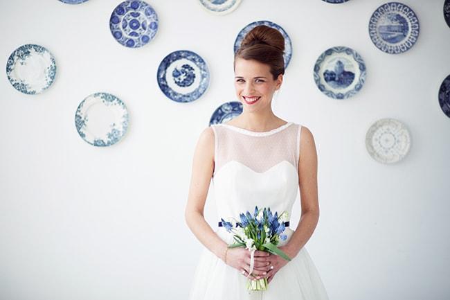 Bruiloft Delfts blauw (3)