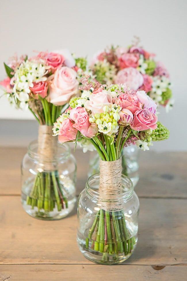 De vintage bruiloft van robyn en marc girls of honour for Tafeldecoratie bruiloft