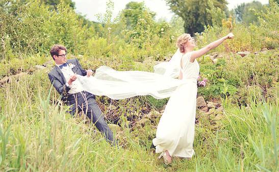 De bruiloft van Onno & Esther