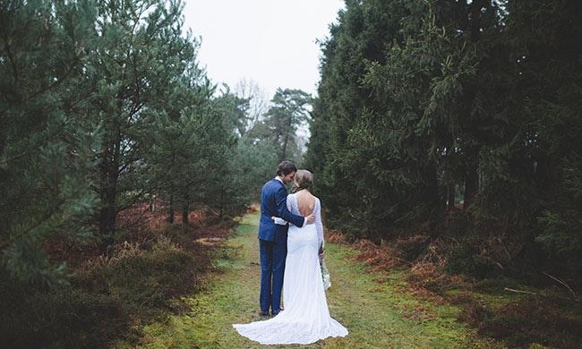 De bruiloft van Glenn & Marit