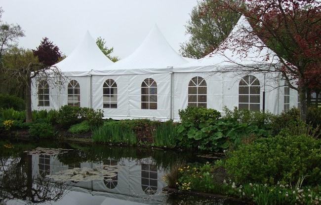 Bruiloft in een tent 2