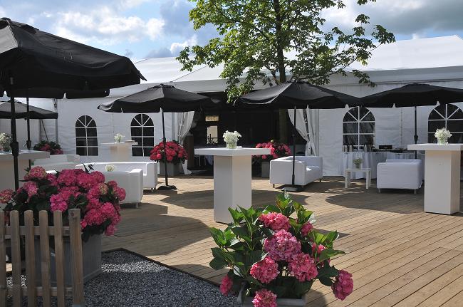 Bruiloft in een tent 3