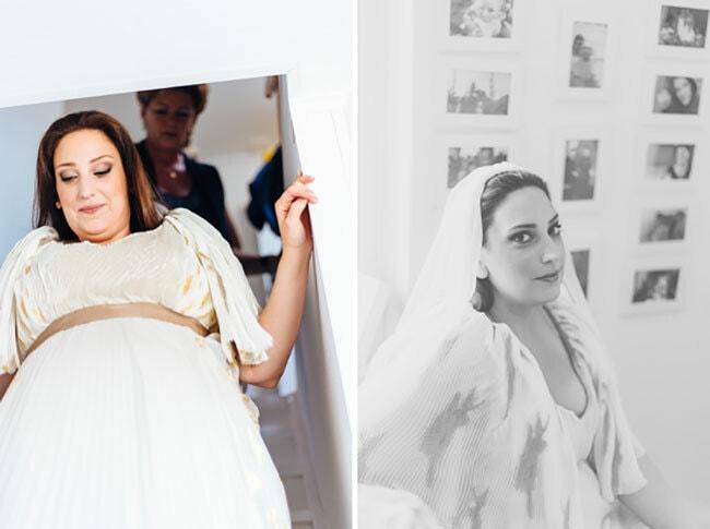 zwanger naar een bruiloft