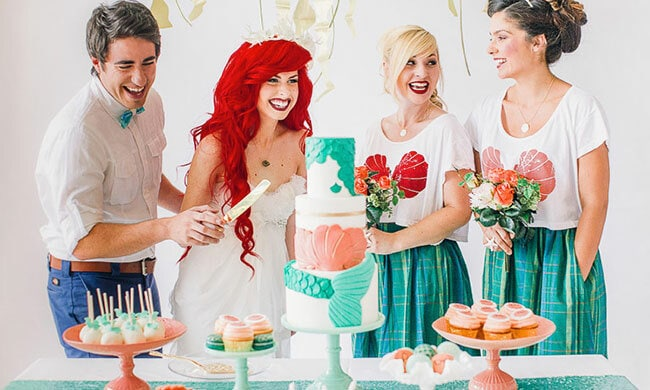 Vier bijzondere bruiloft thema's