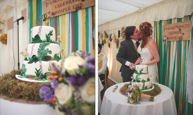De DIY bruiloft van Jennie en Alastair