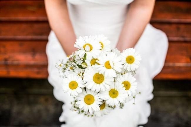 Dario Endara bruidsboeket