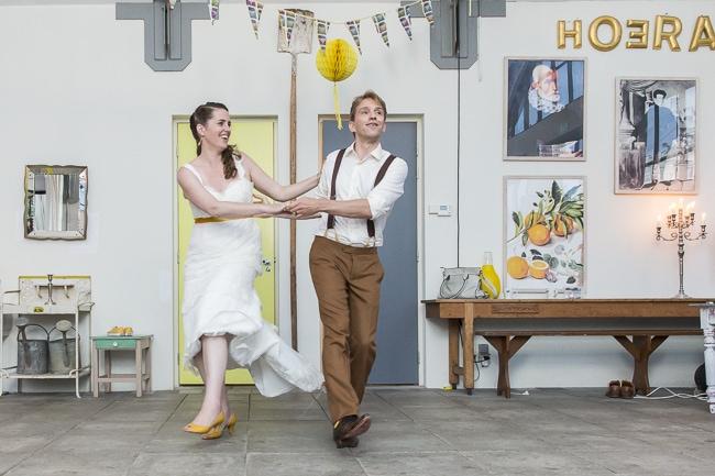 Duurzame bruiloft van Floris & Cathelijne