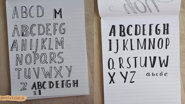 Hand lettering 4