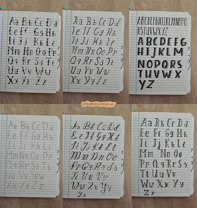 Hand lettering 5