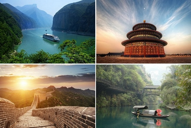 Huwelijksreis China