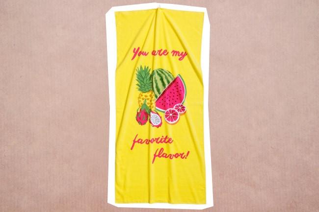 Huwelijksreis handdoek 2