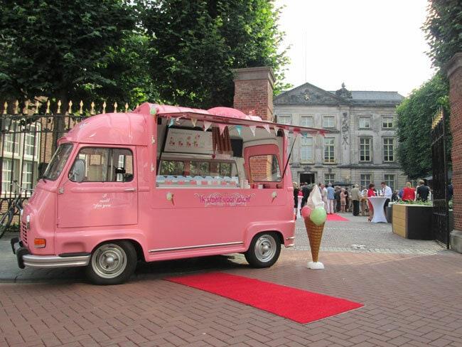 Foodtruck: ijsjes op je bruiloft