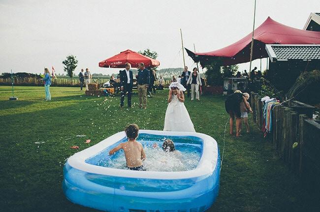 Zo vermaak je kinderen op je bruiloft