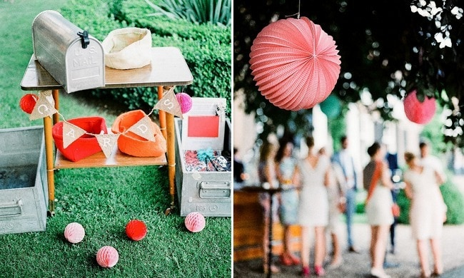 Styling van je bruiloft