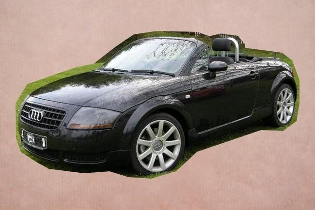 Trouwauto Audi TT