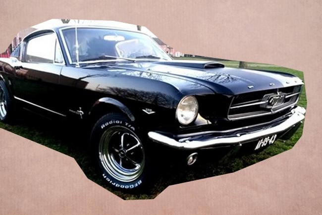 Trouwauto Mustang Ford