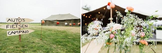 Trouwen in een Tent