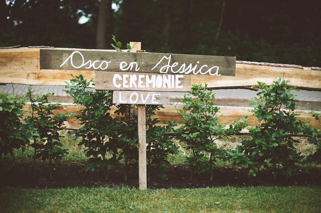 Vintage bruiloft Osco Jessica 7