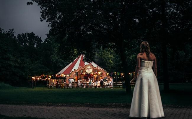 Thema: festival-bruiloft