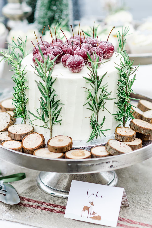 Bruidstaart winter sugarlips cakes