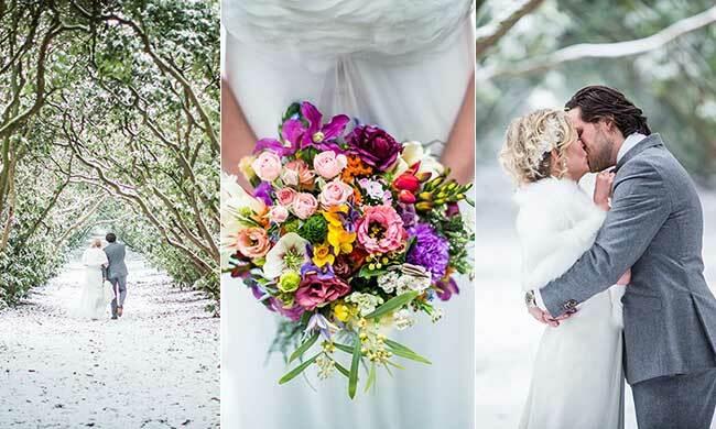Winter bruiloft van Pim & Annemiek