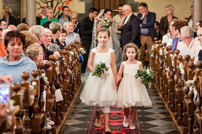 Deze taken kunnen je bruidskinderen vervullen op je bruiloft