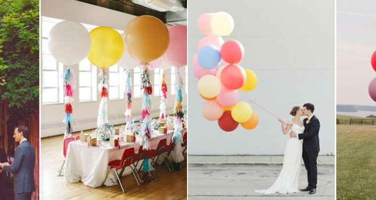 Goedkope versiering: ballonnen