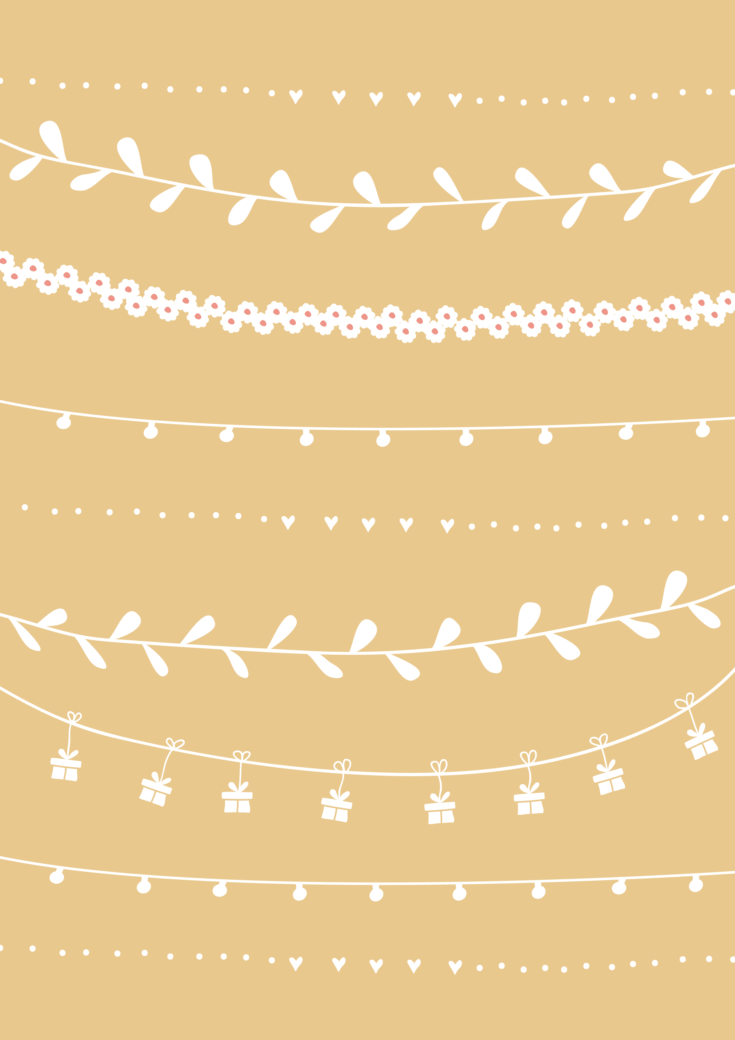 cadeau papier geel-01