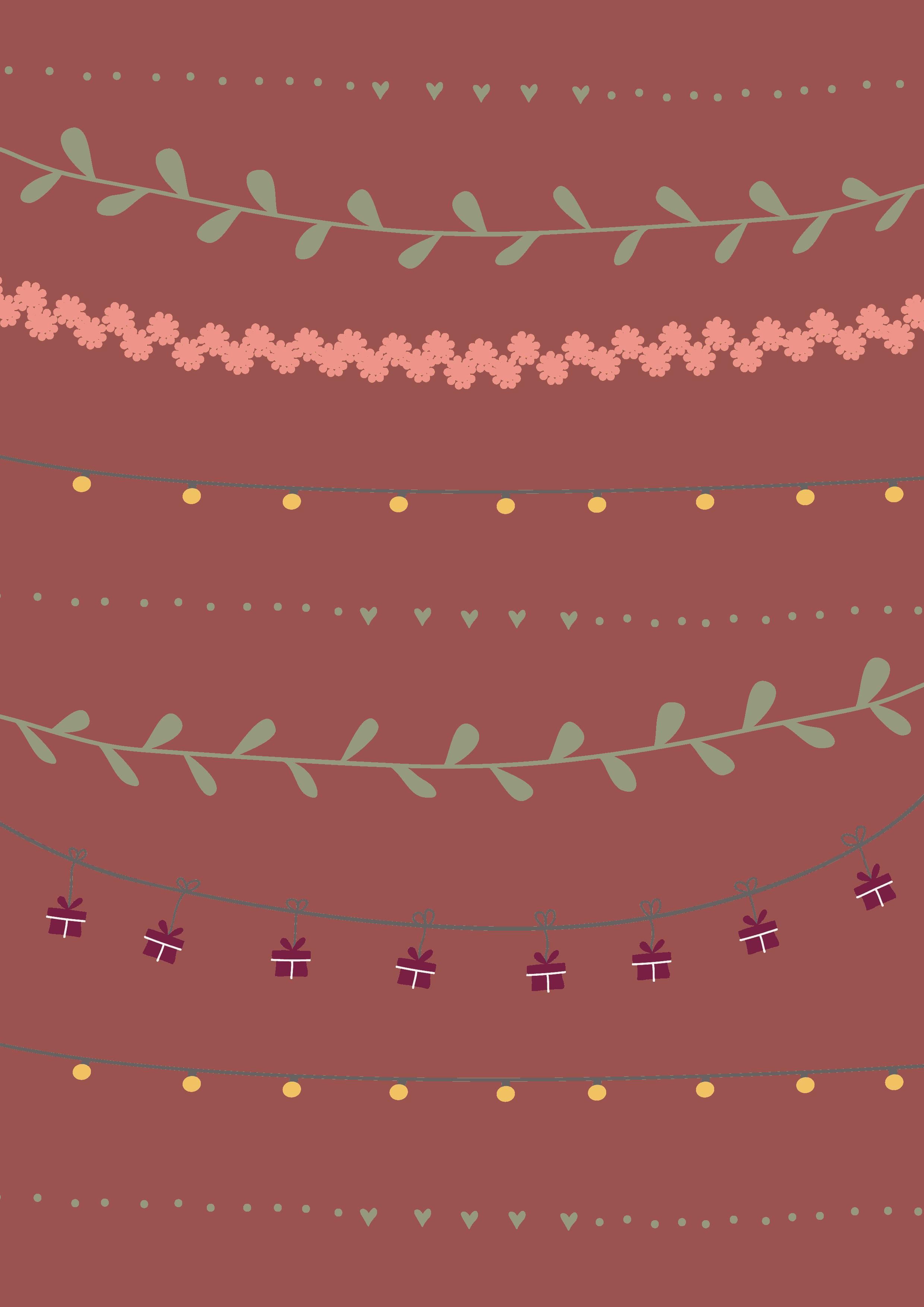 printable cadeau papier kleur