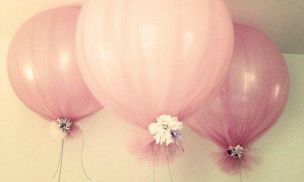 DIY Tule ballonnen